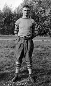 1915 Washington State football captain Carl Dietz