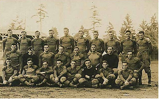 Washington football team circa 1915