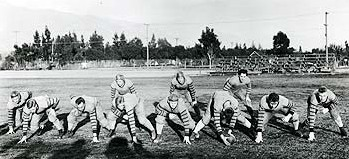 Washington State at the 1916 Rose Bowl