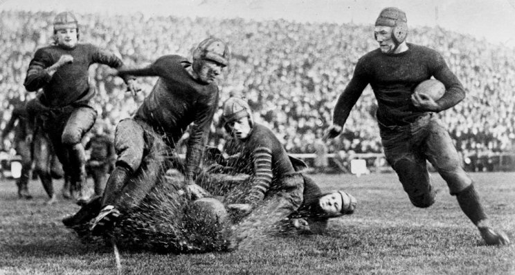 1922 Rose Bowl, Washington and Jefferson vs. California