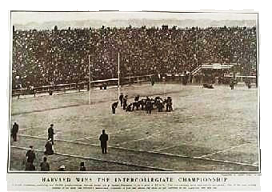 Harvard-Yale football game 1901